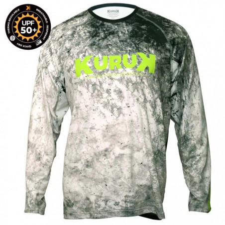 L-Shirt Expedition 50 Grey Fluo