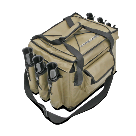 Cooler and Gear-bag rod-holders