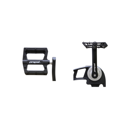 Pedal crank upgrade kit