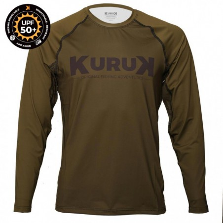 L-Shirt Expedition 50 Green Forest kaki
