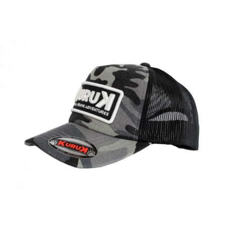 Gorra Trucker Camo Grey