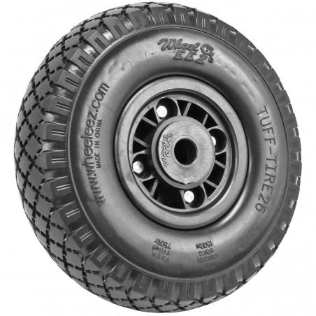 Rueda foam PU Wheeleez 26x7,6 cm